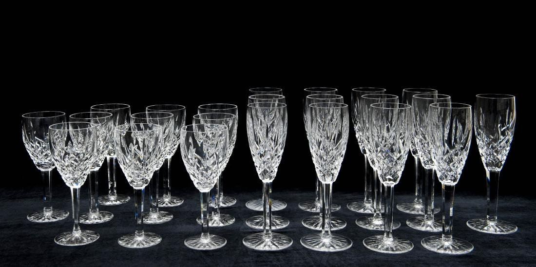 Waterford Crystal Wine & Champagne Stems.