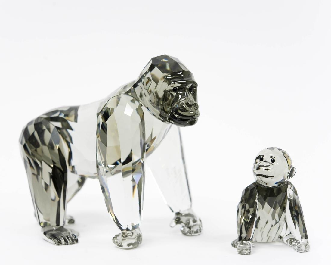 (3) Swarovski Crystal Sculptures. - 3