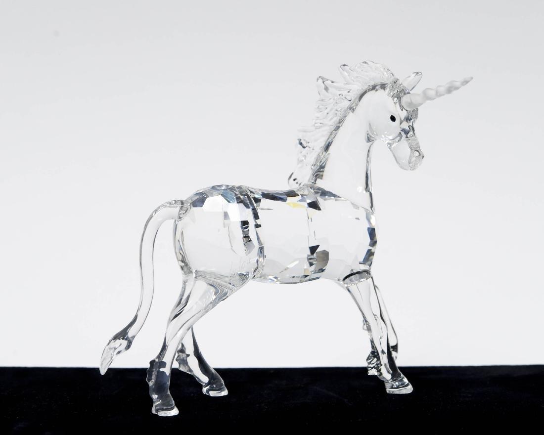(3) Swarovski Crystal Sculptures. - 6