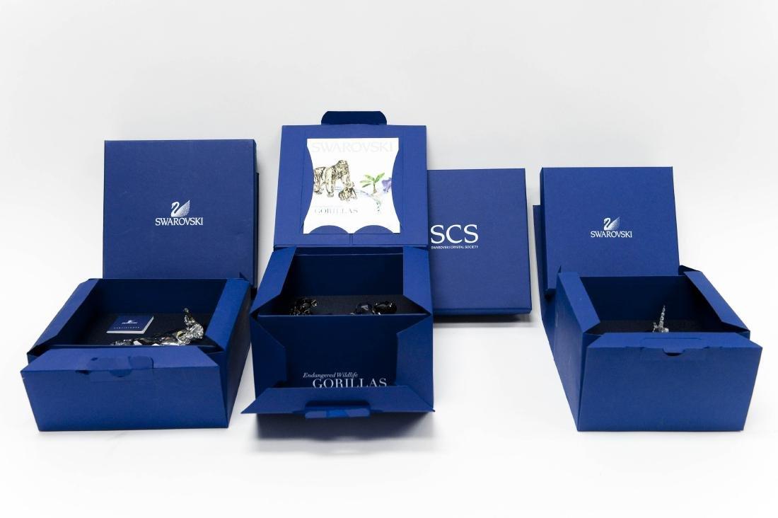 (3) Swarovski Crystal Sculptures. - 7