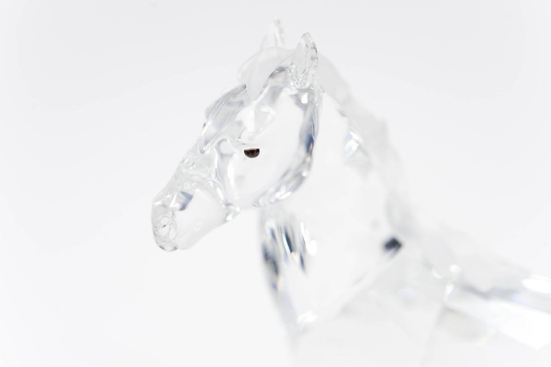 (2) Swarovski Crystal Sculptures. - 4