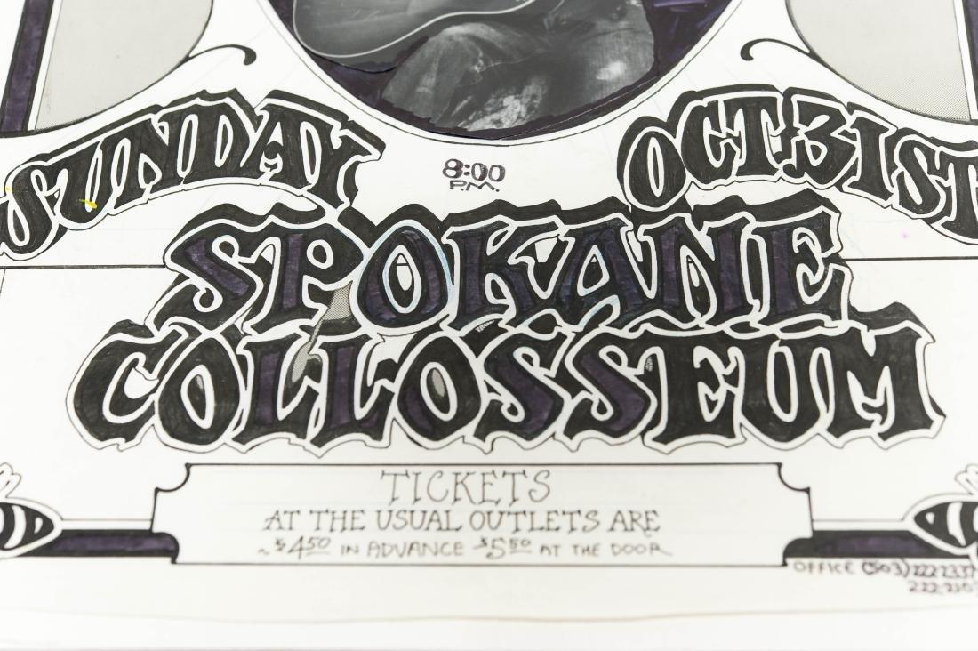 Bruce Weber Deep Purple Concert Poster Art. - 6