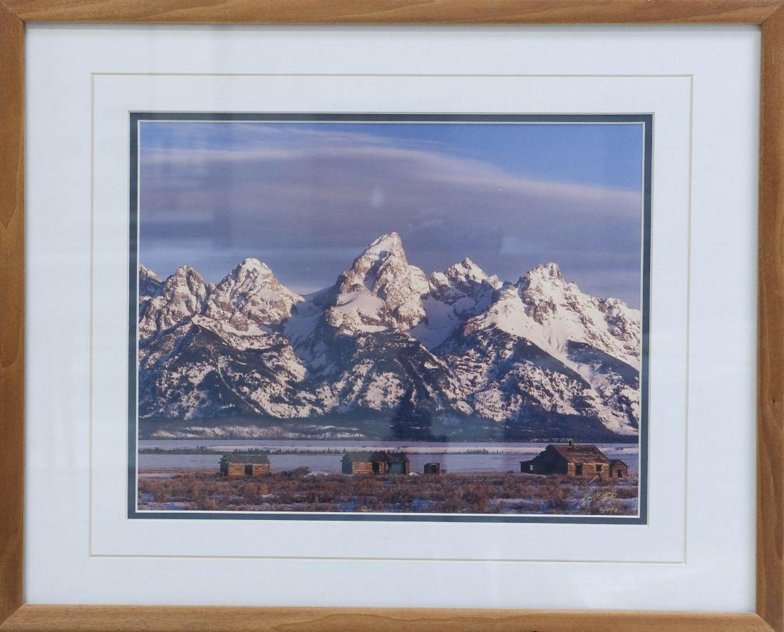 Signed Limited Edition Photograph, Teton Range.