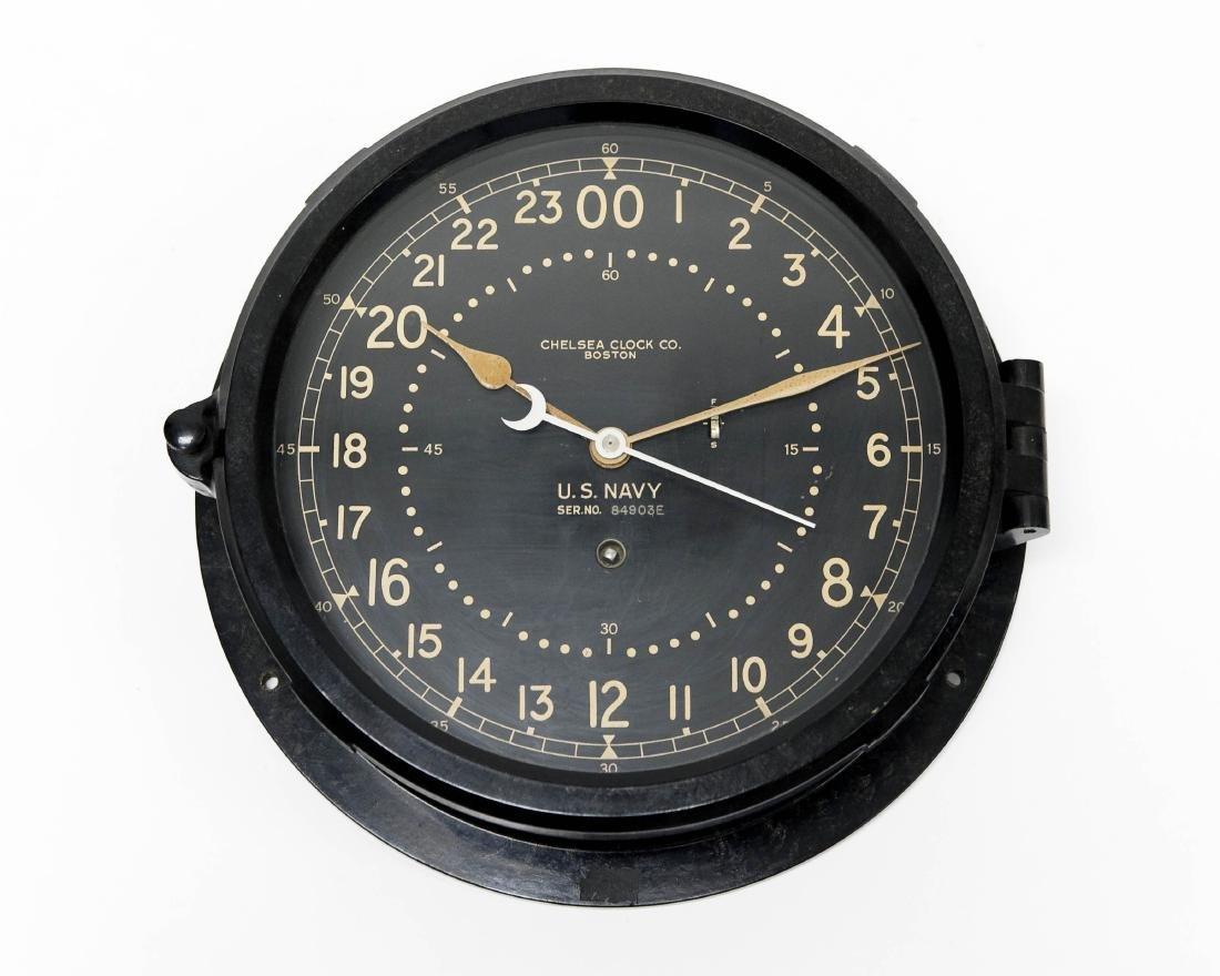 Chelsea U.S. Navy Ship's Clock.