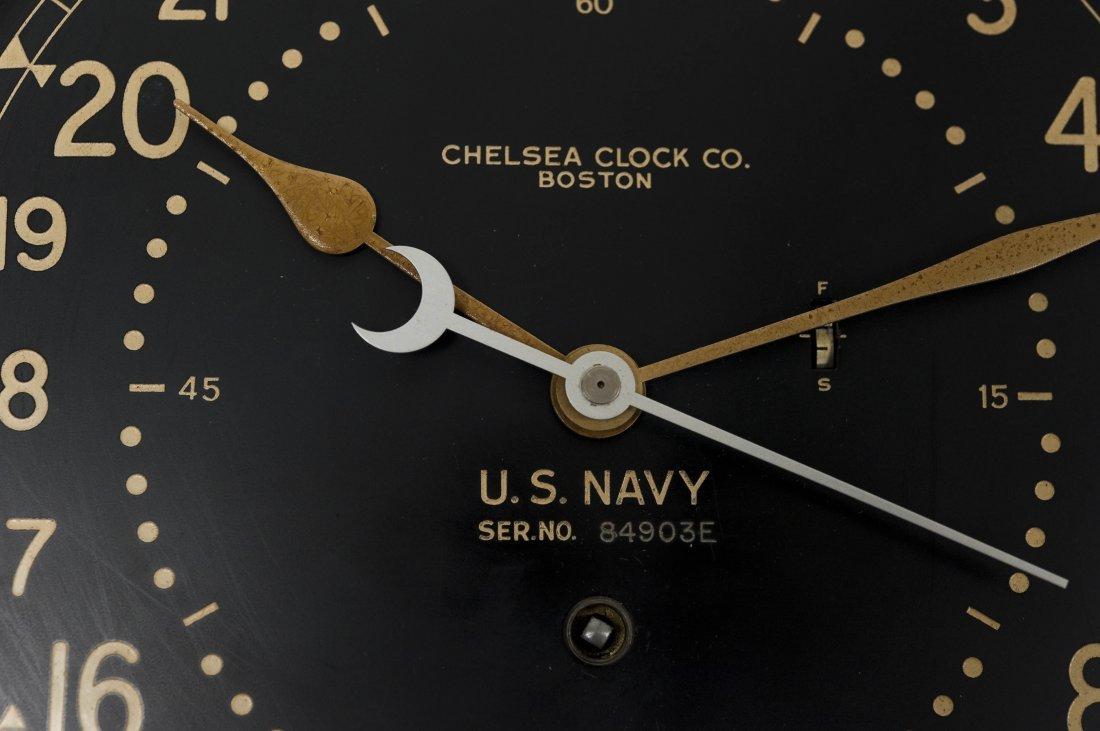 Chelsea U.S. Navy Ship's Clock. - 2