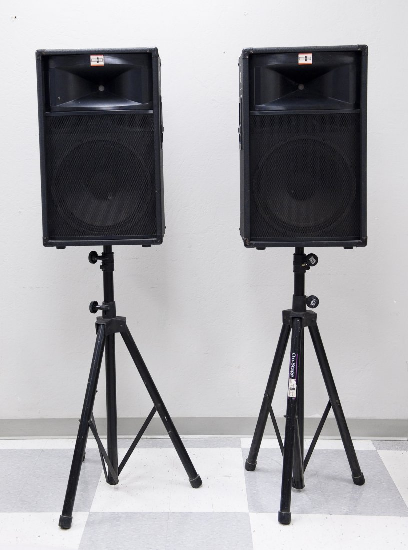 Pair of JBL TR125 Speakers.