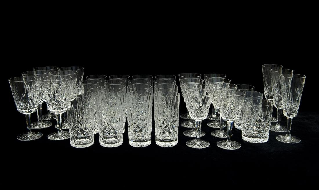 Waterford Crystal Stemware and Glasses.