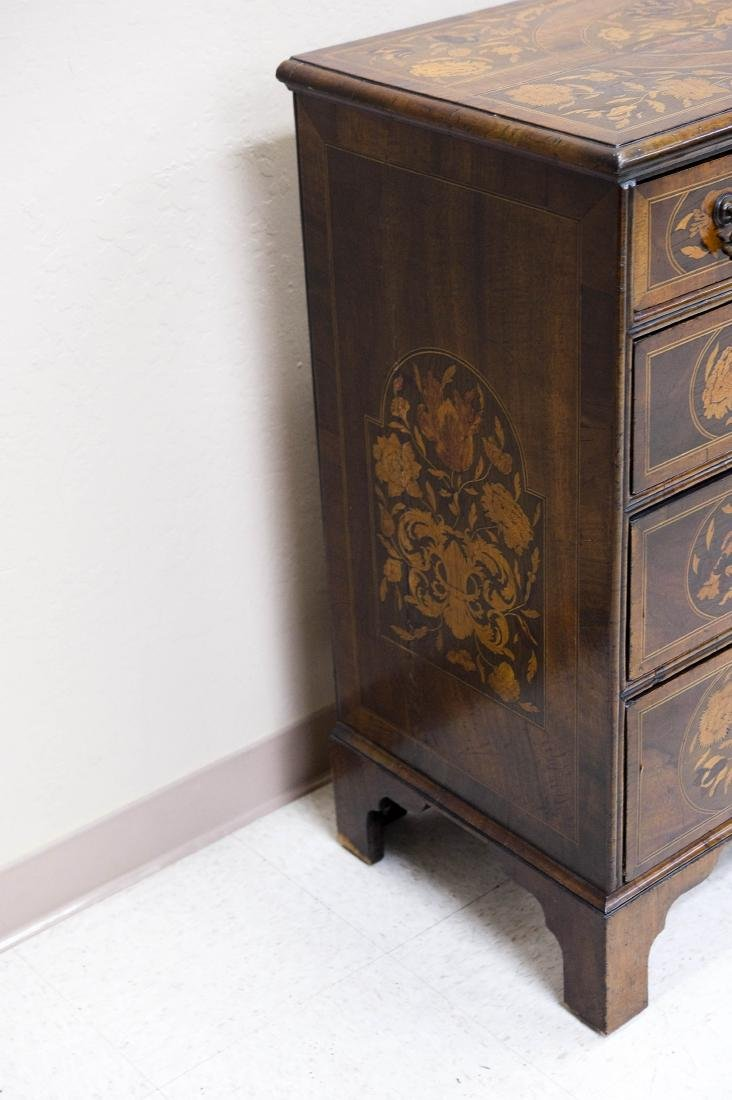 19th C. Mahogany and Fruitwood 5-drawer Chest. - 12