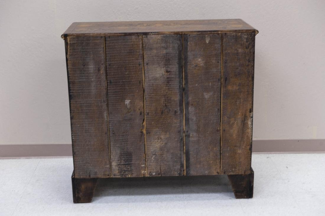19th C. Mahogany and Fruitwood 5-drawer Chest. - 16