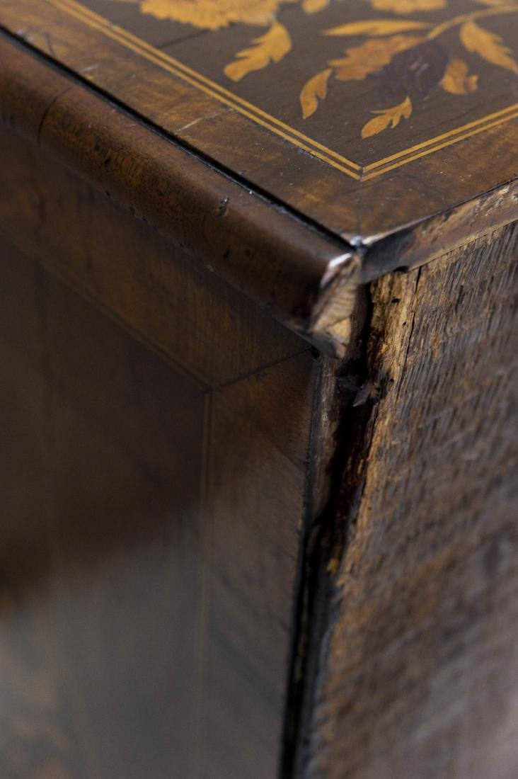 19th C. Mahogany and Fruitwood 5-drawer Chest. - 17