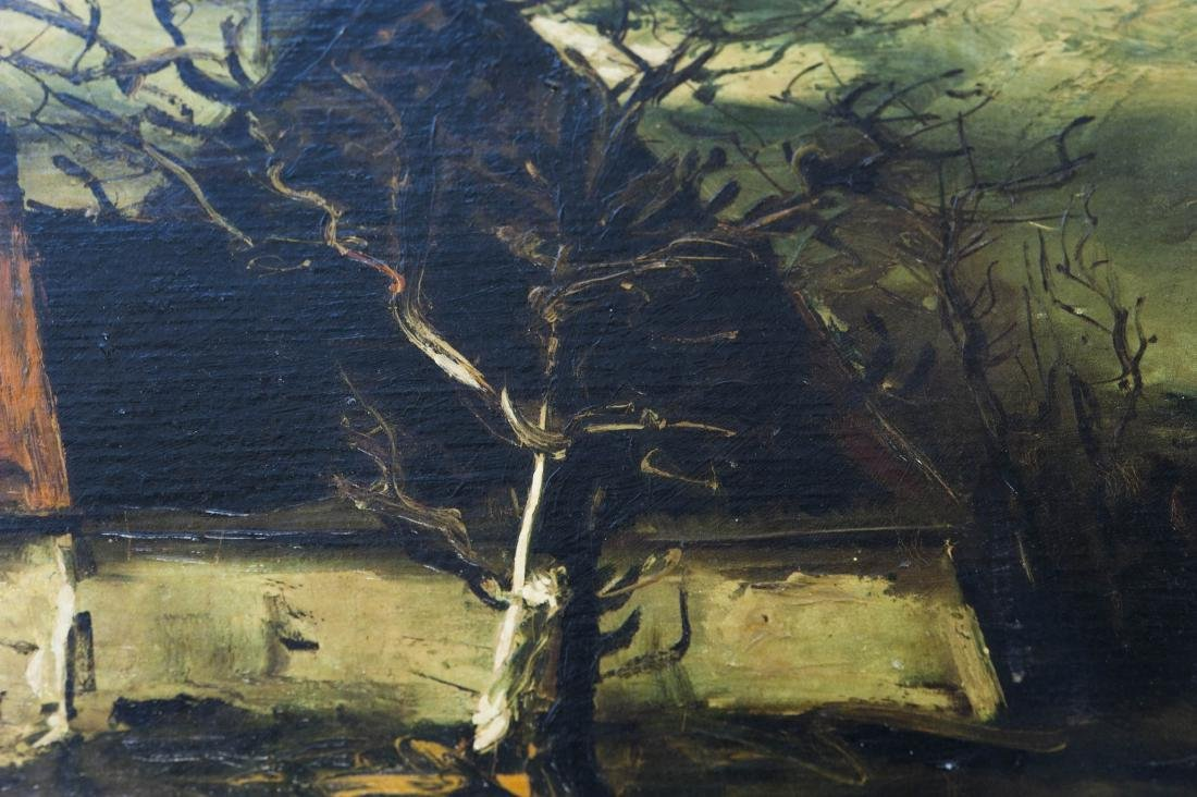 Attributed to Maurice de Vlaminck, Oil on Canvas. - 10