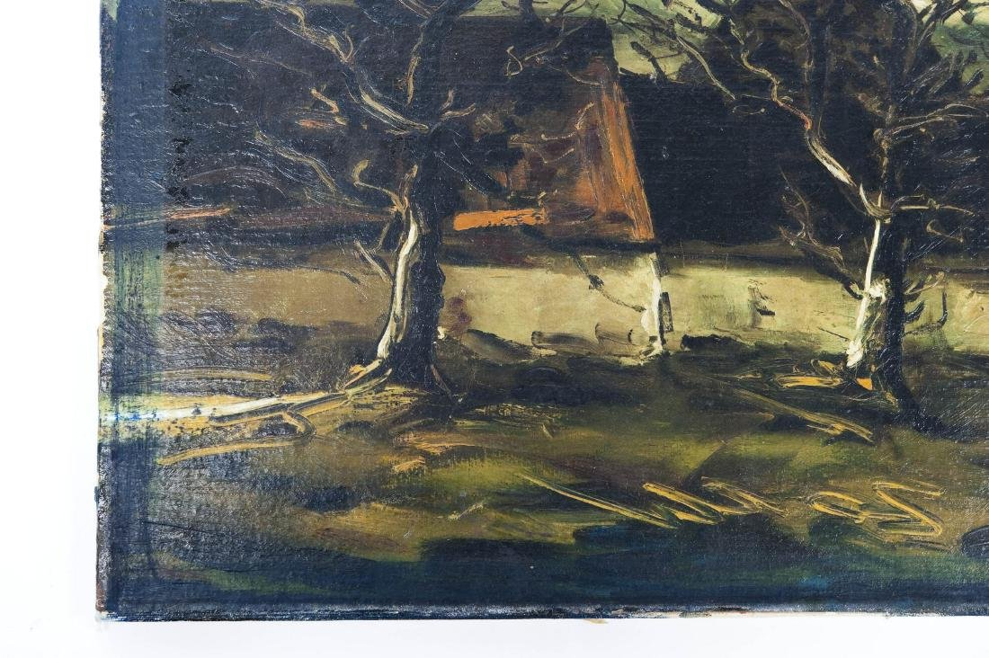Attributed to Maurice de Vlaminck, Oil on Canvas. - 3