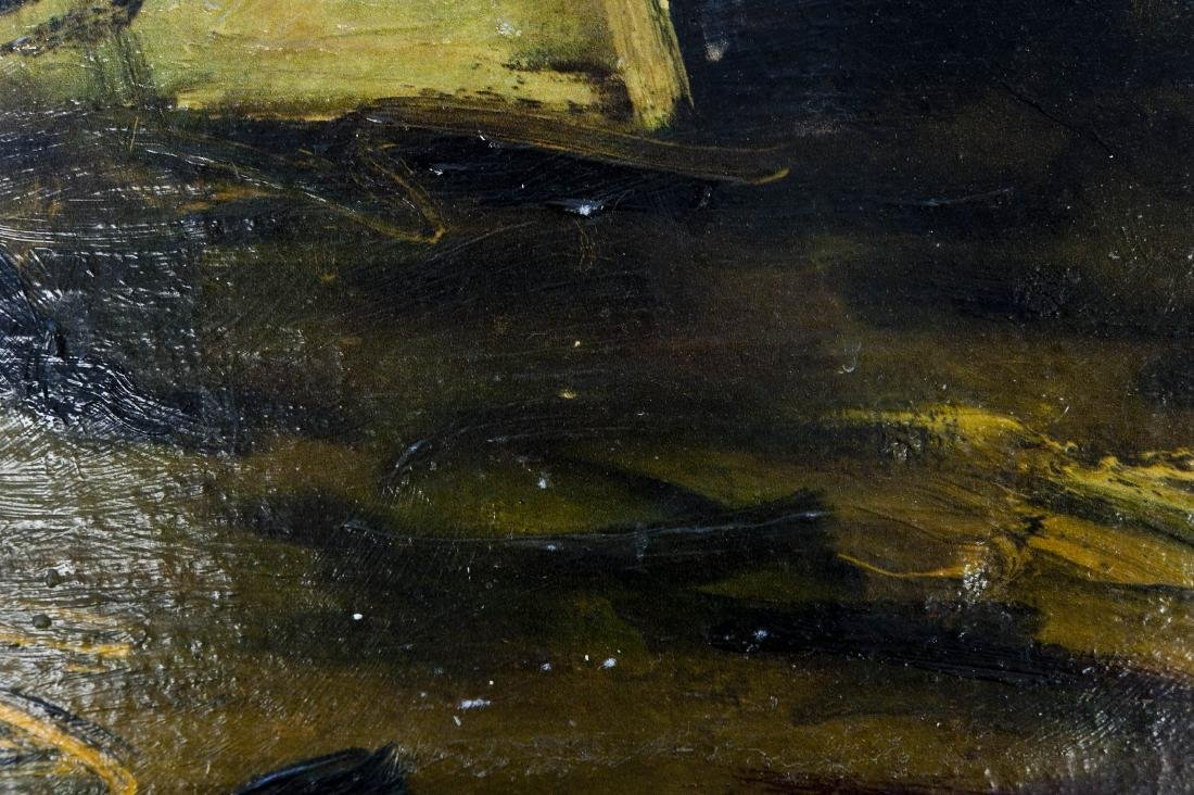 Attributed to Maurice de Vlaminck, Oil on Canvas. - 8