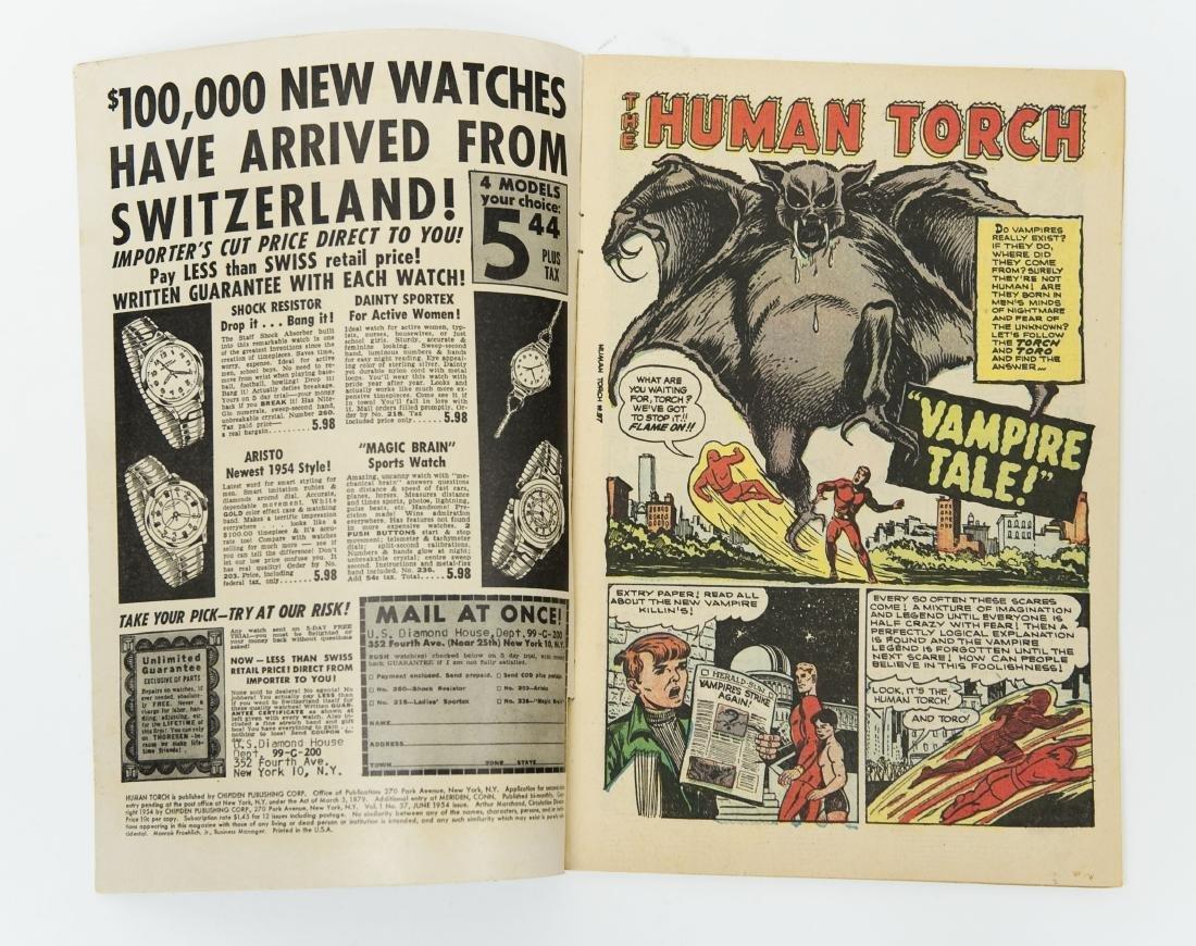 Atlas 10-cent Comic Book, The Human Torch #37. - 3