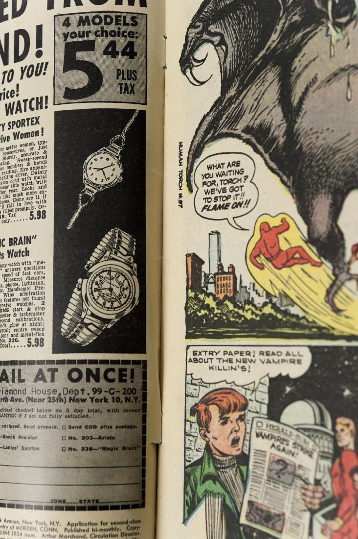 Atlas 10-cent Comic Book, The Human Torch #37. - 9