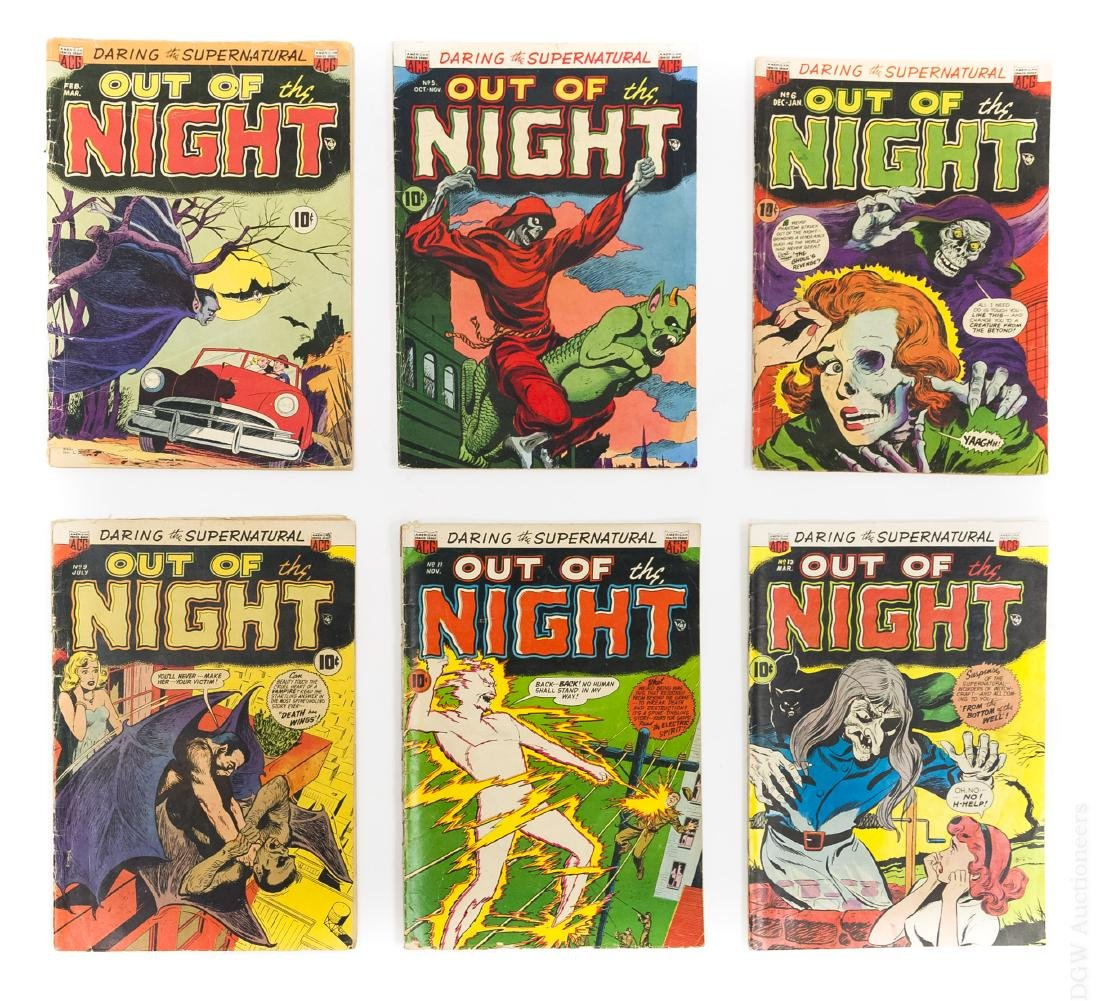 (6) Comic Books, Out of the Night.