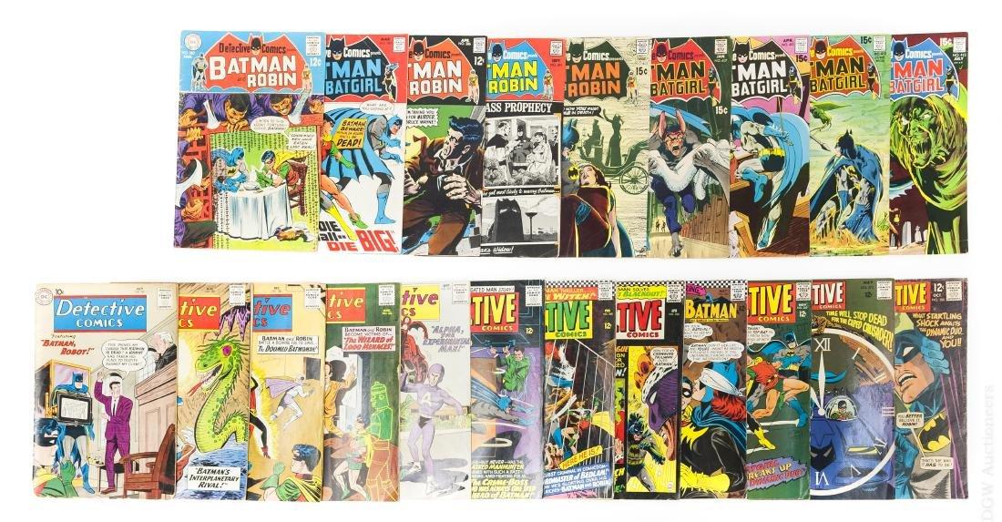 (21) Vintage DC Detective Comics.