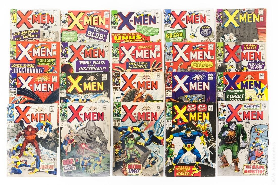 (20) Marvel X-Men Comic Books.