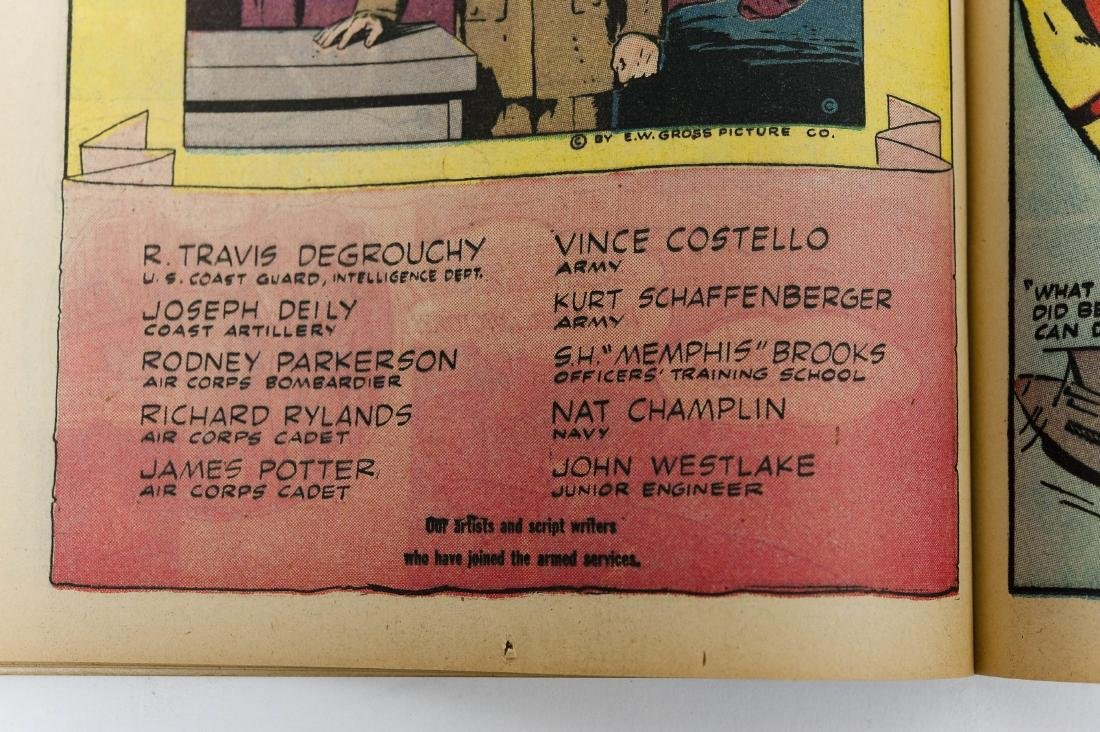 Comic Book, Doc Savage Comics, Vol, 1, #10. - 12