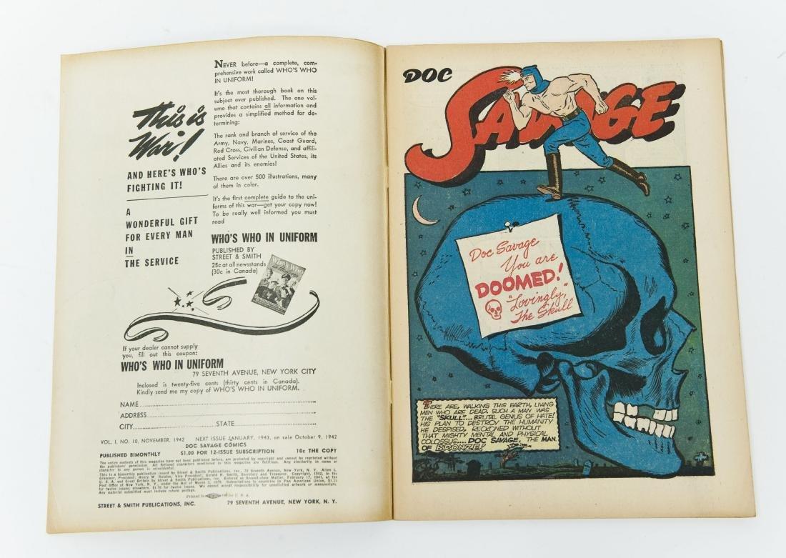 Comic Book, Doc Savage Comics, Vol, 1, #10. - 3