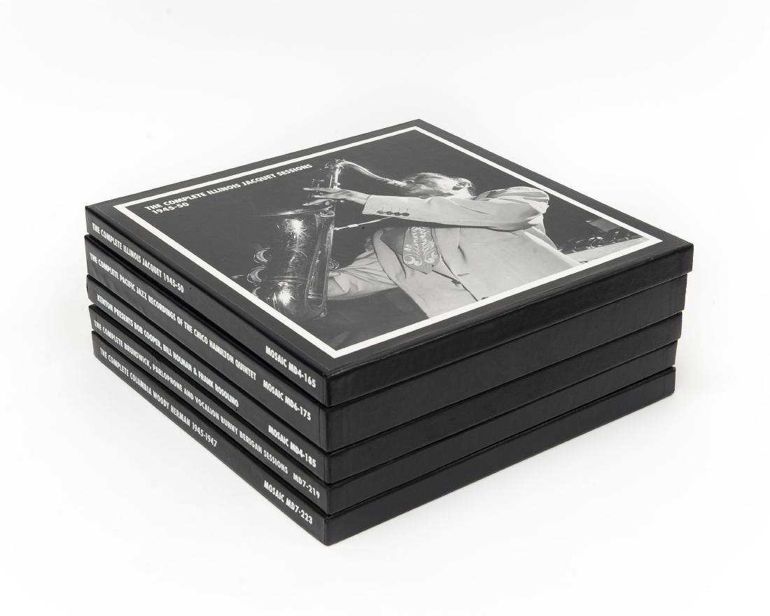(5) Mosaic Records Limited Edition Jazz CD Sets.