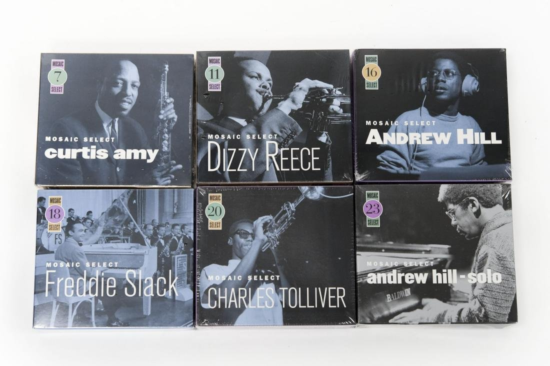 (6) Mosaic Select Jazz Sealed CD Box Sets.