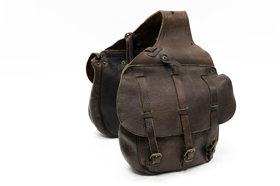 Ralph Lauren RRL Leather Saddlebags.