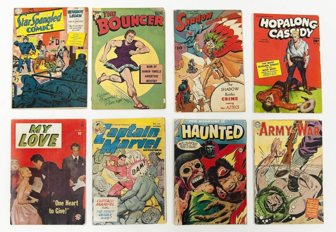 (8) Vintage 10-cent Comics.