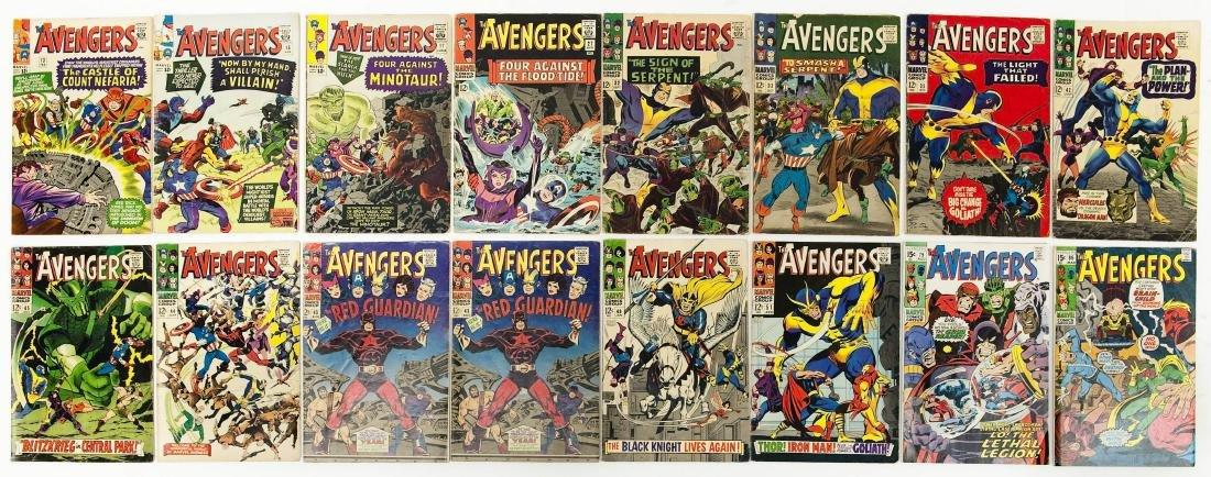 (16) Marvel Comics, The Avengers.