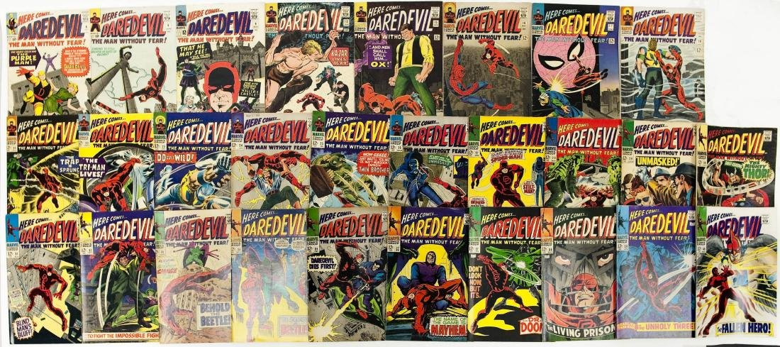 (28) Marvel Comics, Here Comes Daredevil.