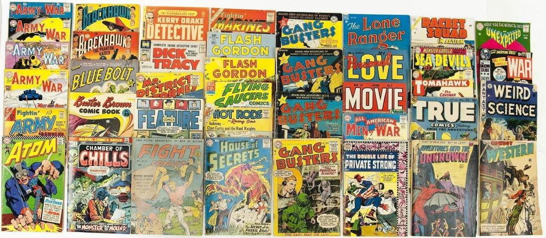 (40) Vintage Comic Books.