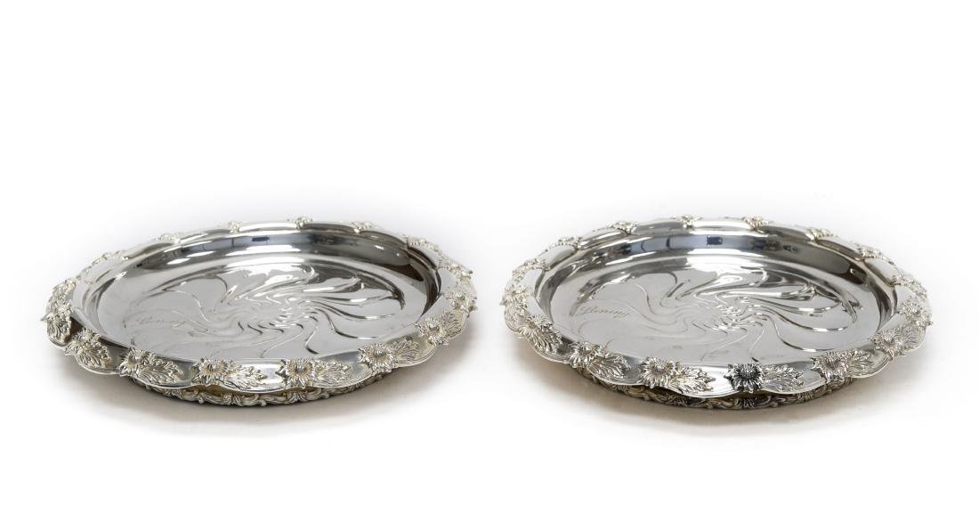 (2) Tiffany & Co. Sterling Silver Dishes.