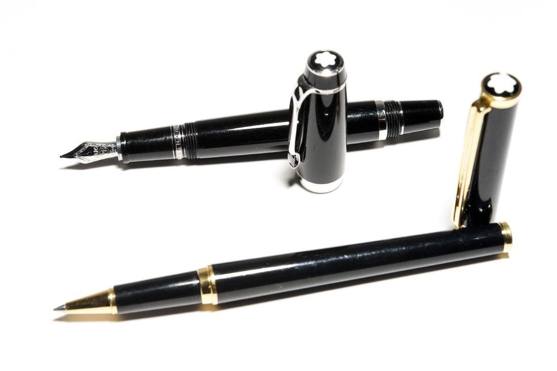 Montblanc Fountain & Rollerball Pens.