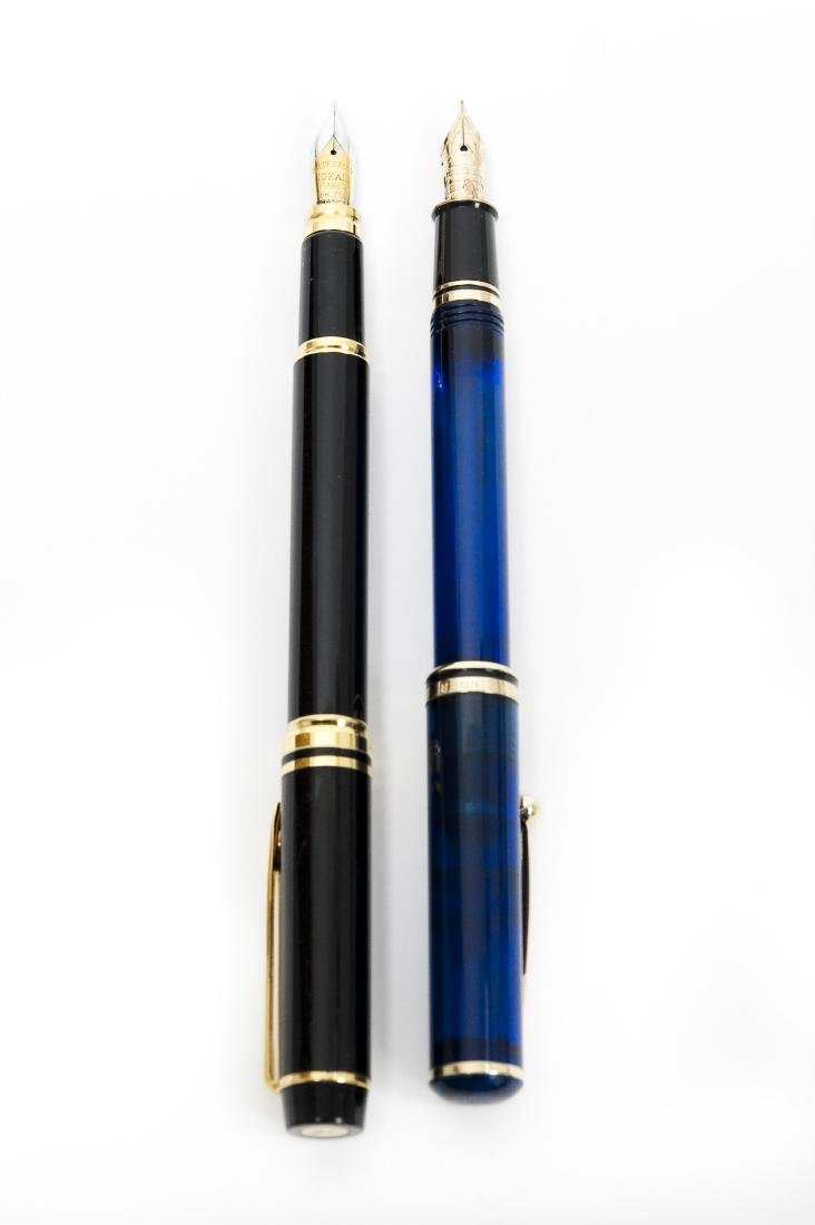 Waterman & Sheaffers Fountain Pens.