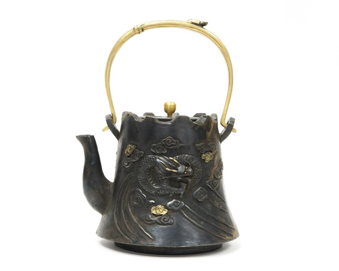 Asian Bronze Teapot.