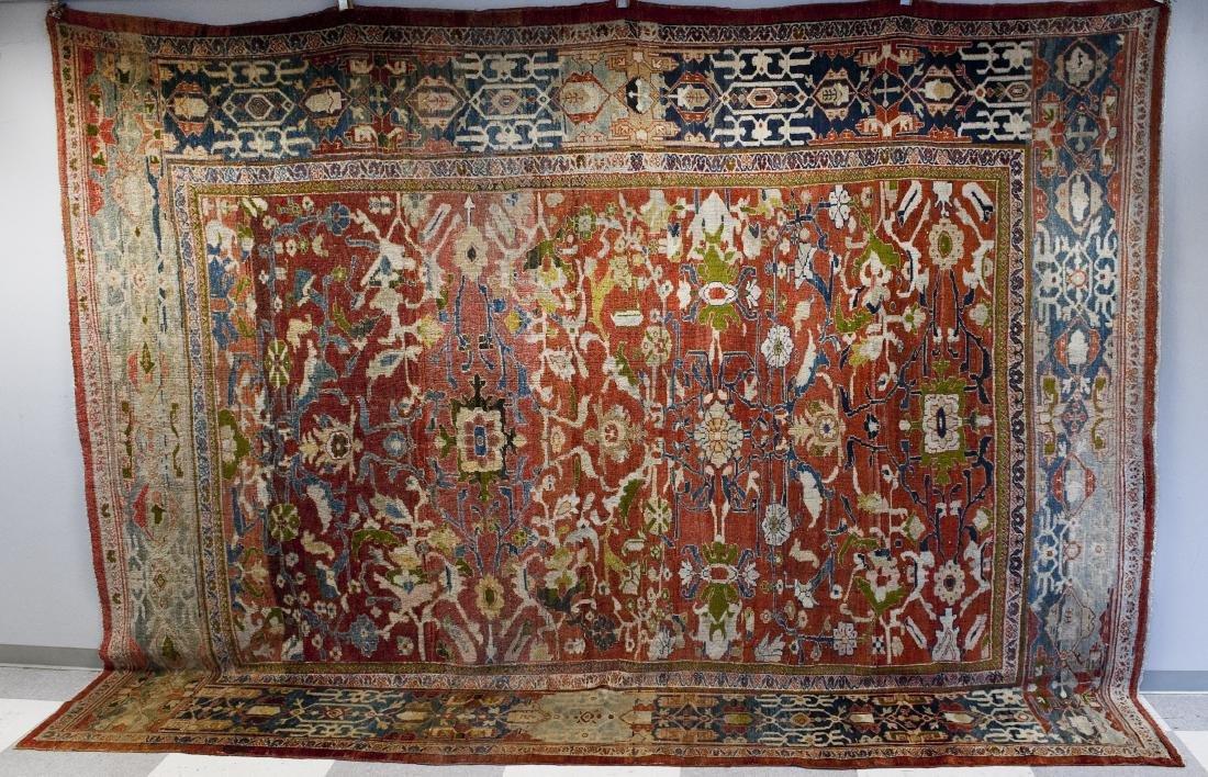 Persian Mahal Rug.