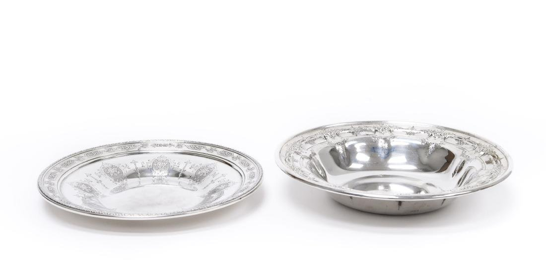 Towle Sterling Silver Bowl & Dish.