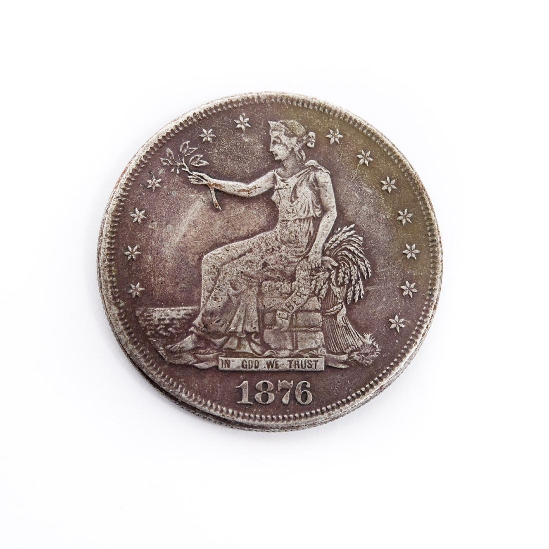 1876-S Trade Dollar.