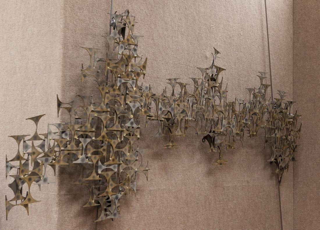 Marc Weinstein Abstract Metal Sculpture.