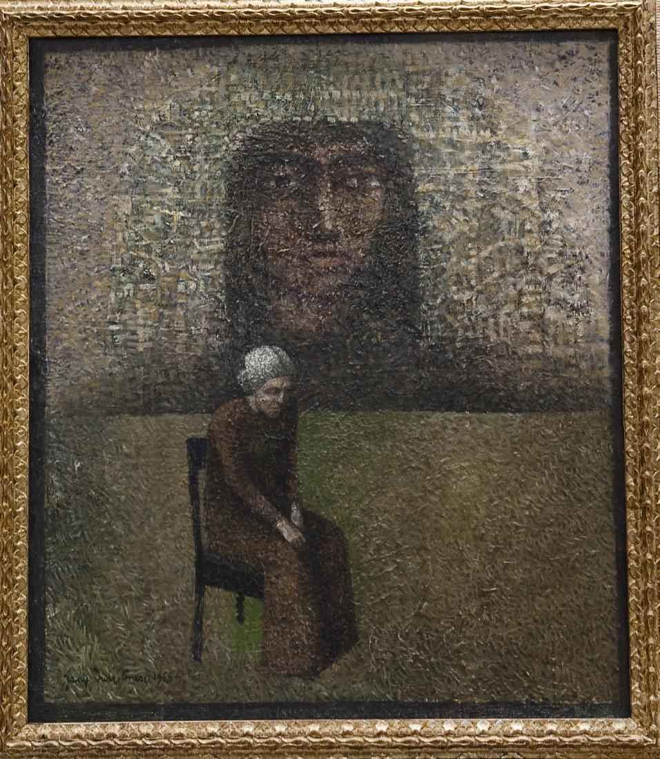 Jerzy Duda Gracz Oil on Canvas.