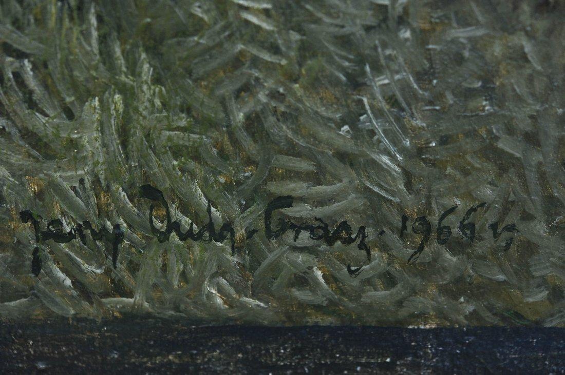 Jerzy Duda Gracz Oil on Canvas. - 2