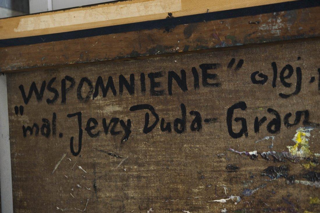 Jerzy Duda Gracz Oil on Canvas. - 8