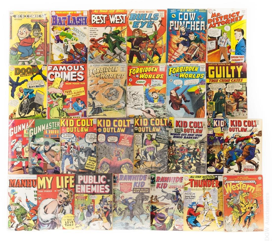 (27) Vintage Comics incl. Marvel & DC.