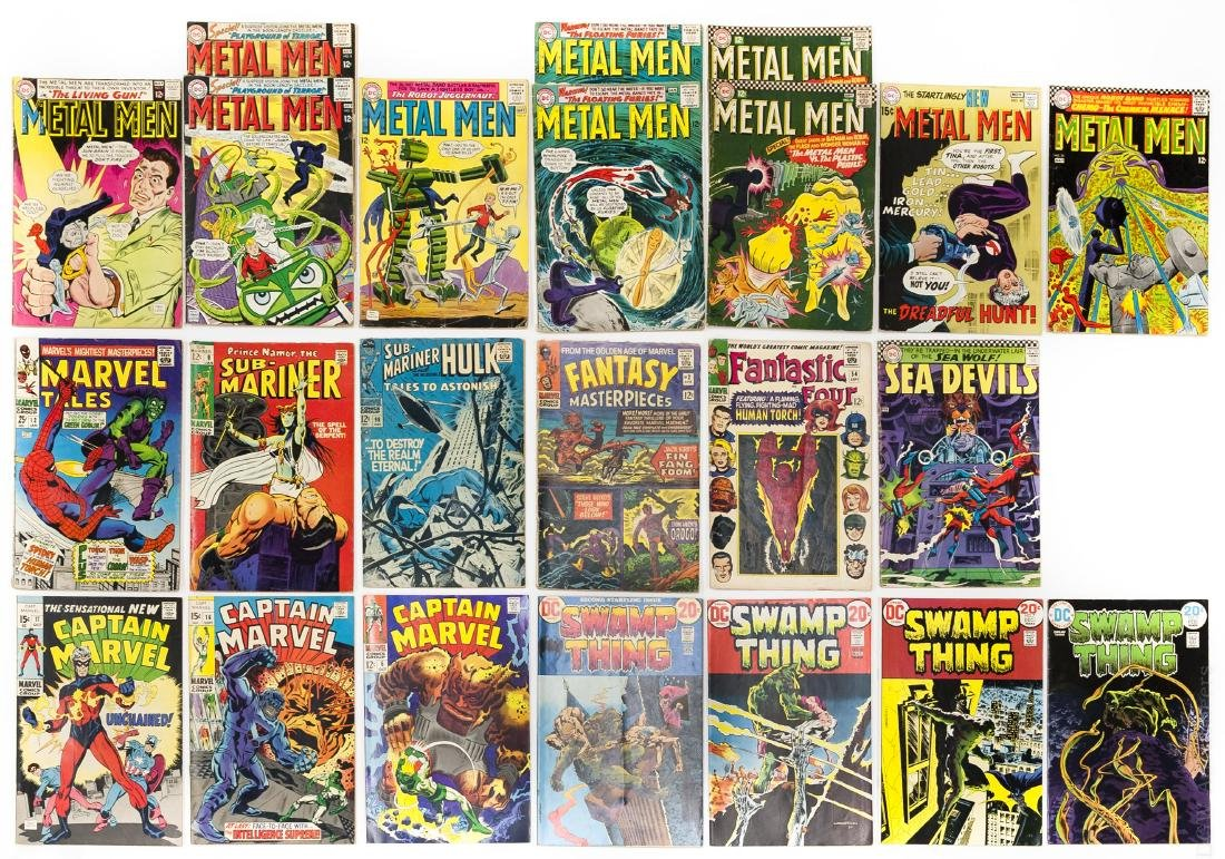(23) Vintage Marvel & DC Comics.