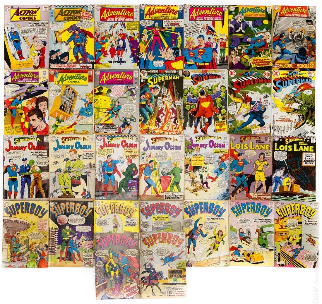 (30) Vintage DC Comics.