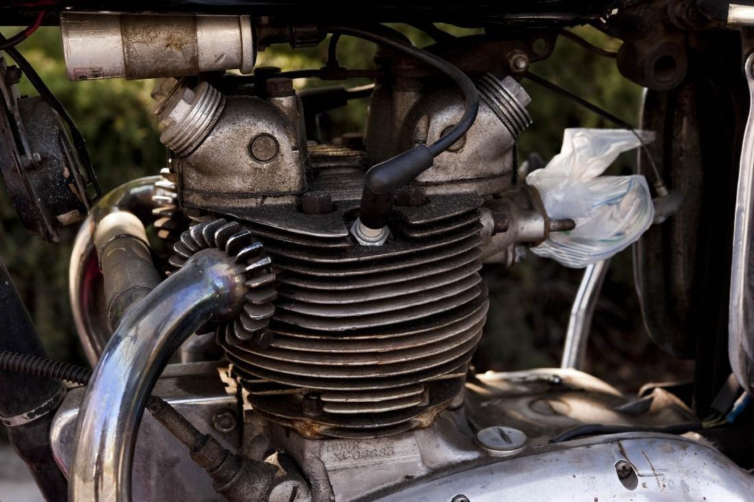 1969 Triumph T100R Daytona 500 Motorcycle - 5