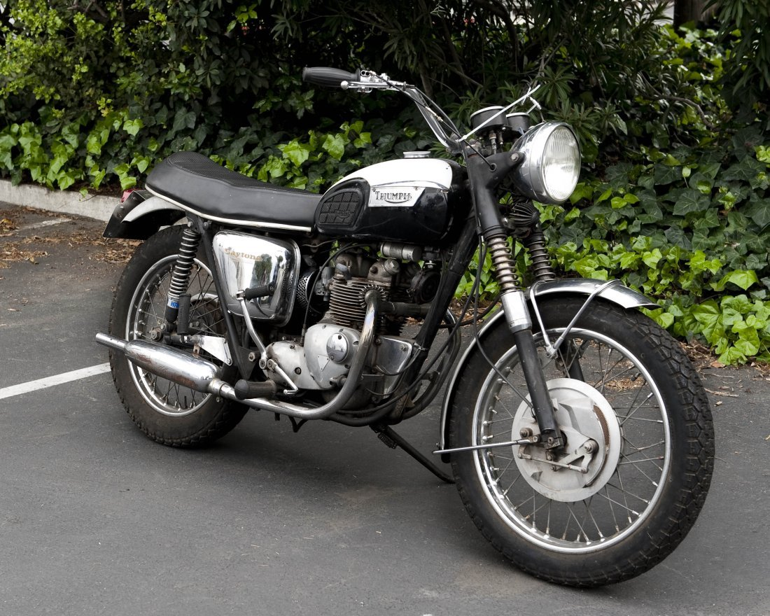 1969 Triumph T100R Daytona 500 Motorcycle