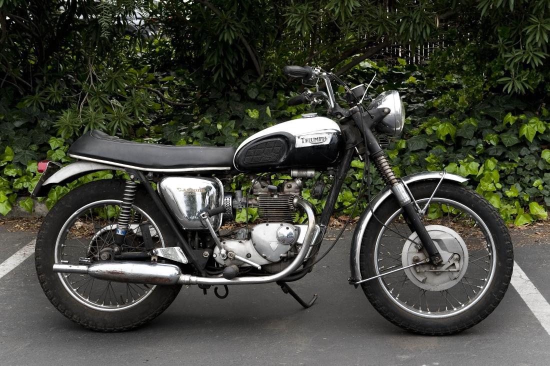1969 Triumph T100R Daytona 500 Motorcycle - 2