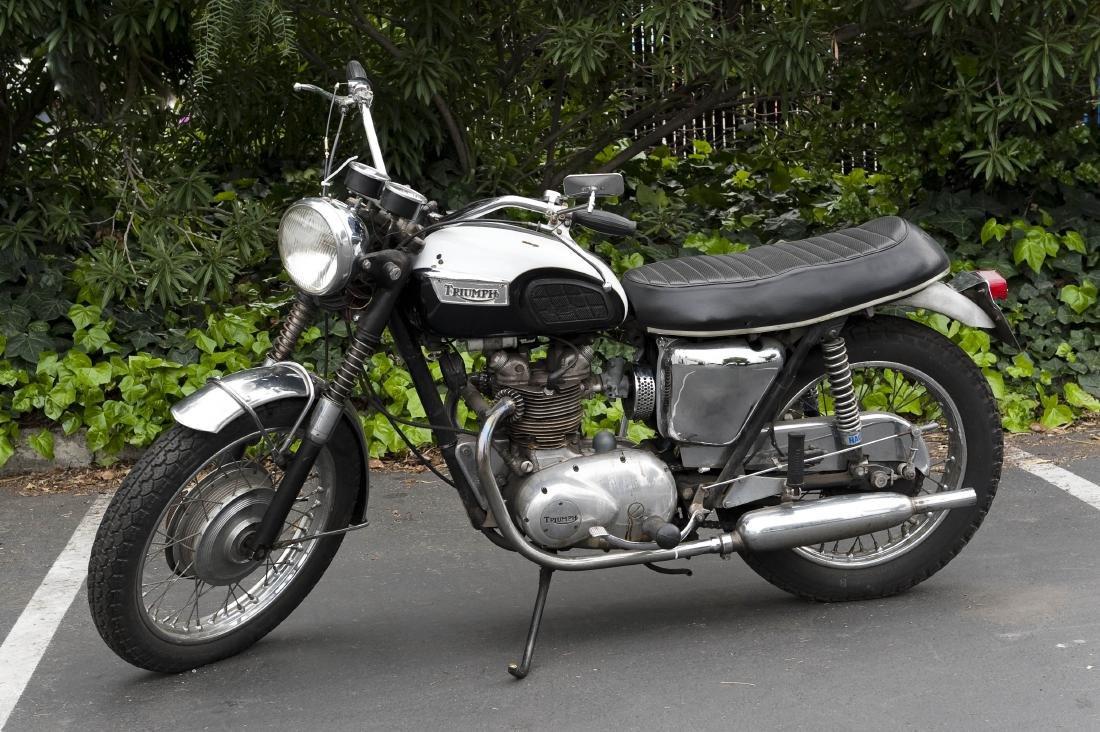 1969 Triumph T100R Daytona 500 Motorcycle - 3