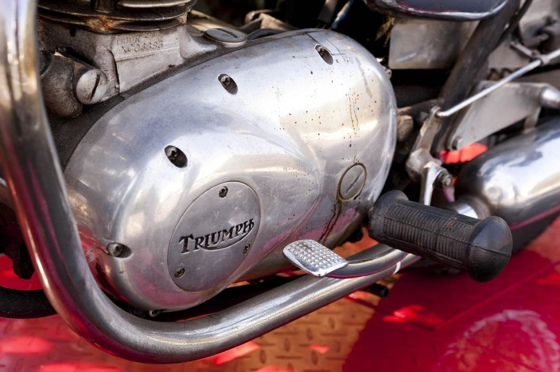 1969 Triumph T100R Daytona 500 Motorcycle - 4